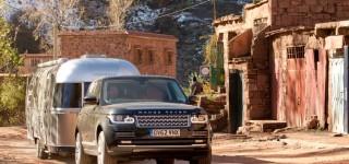 Новый Range Rover и Airstream